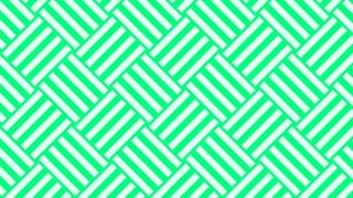 Spring Green Stripes Pattern