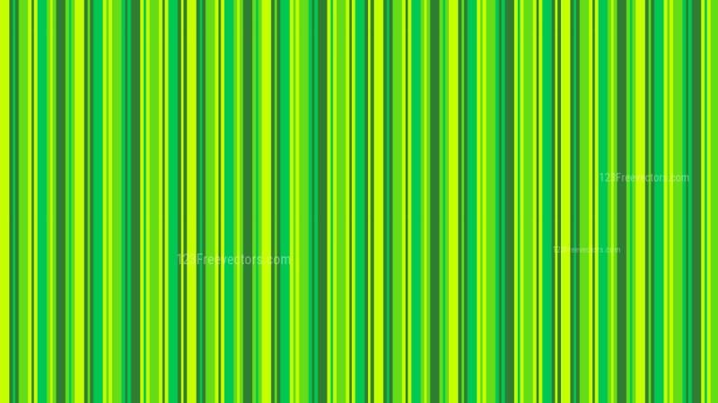 Green Vertical Stripes Pattern Design