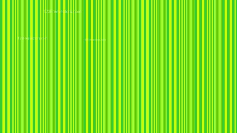 Lime Green Vertical Stripes Background Pattern