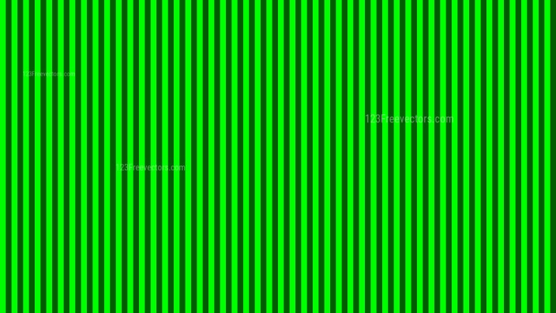 Neon Green Vertical Stripes Pattern Vector Graphic