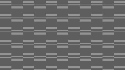 Dark Grey Seamless Striped Geometric Pattern