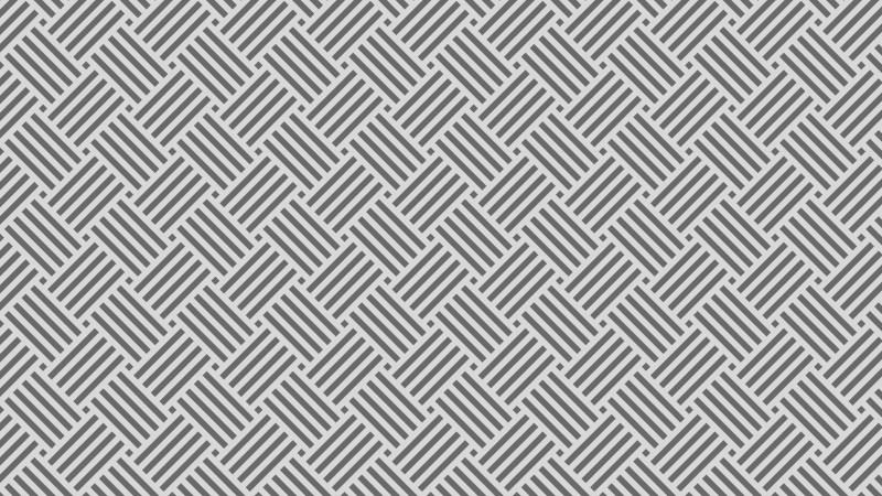 Grey Striped Geometric Pattern Design