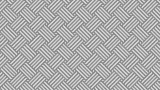 Grey Seamless Striped Geometric Pattern Vector Graphic