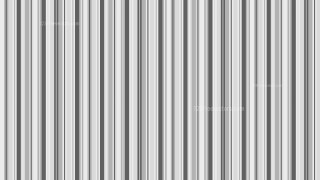 Grey Seamless Vertical Stripes Pattern Vector Illustration