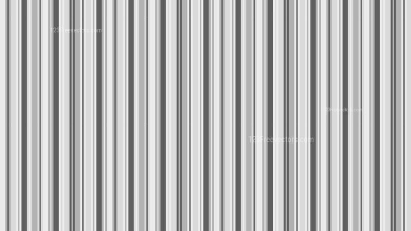 Grey Seamless Vertical Stripes Pattern Vector Illustration