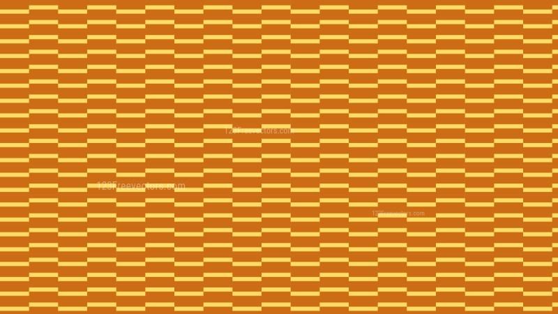 Orange Seamless Stripes Pattern Background