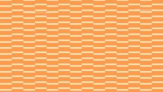 Orange Seamless Stripes Pattern Vector Illustration