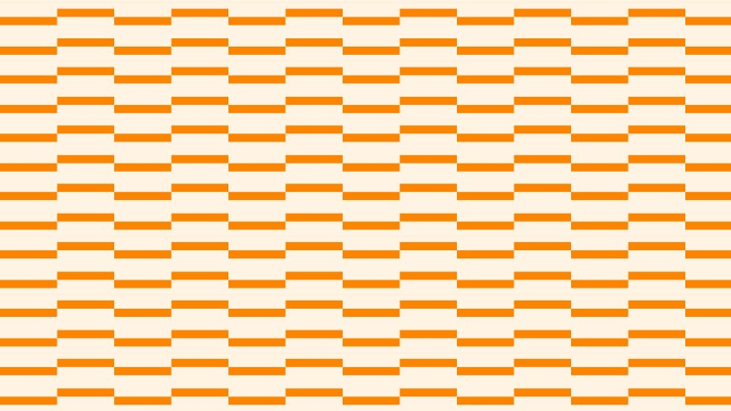 Light Orange Seamless Stripes Pattern Background Vector