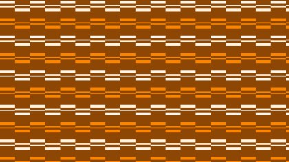 Dark Orange Seamless Stripes Background Pattern Vector Art