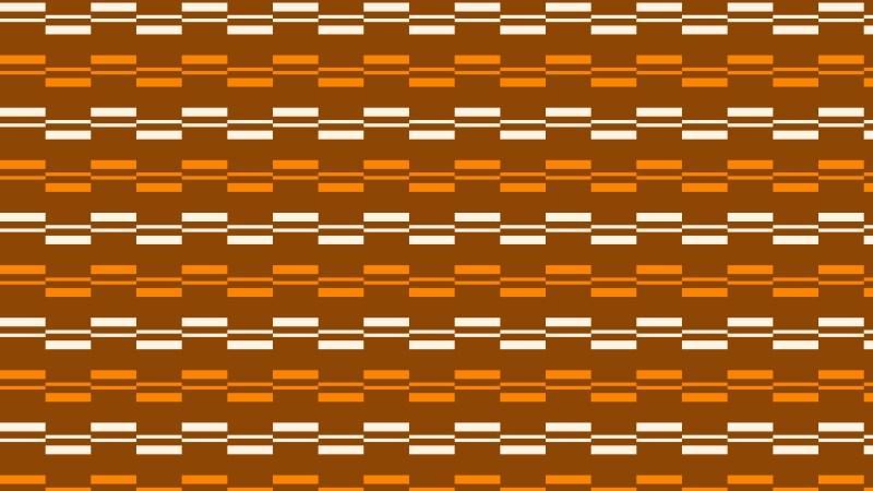 Dark Orange Seamless Stripes Background Pattern Vector Art