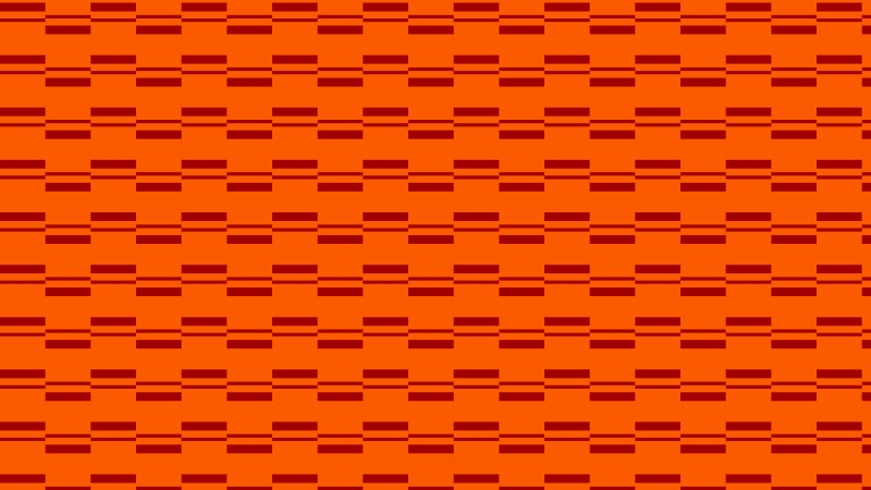 Dark Orange Seamless Stripes Pattern