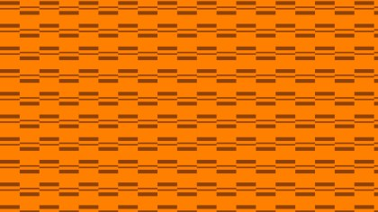 Orange Seamless Stripes Pattern Background
