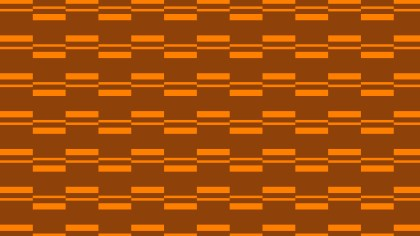 Dark Orange Seamless Stripes Background Pattern