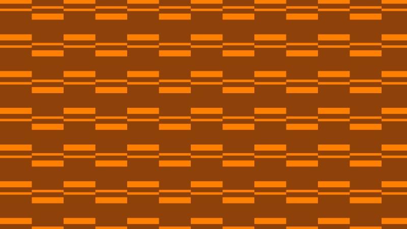 Dark Orange Seamless Stripes Background Pattern