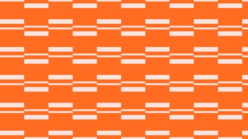 Orange Stripes Pattern Background Vector Illustration