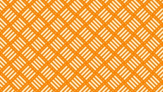 Orange Seamless Stripes Pattern