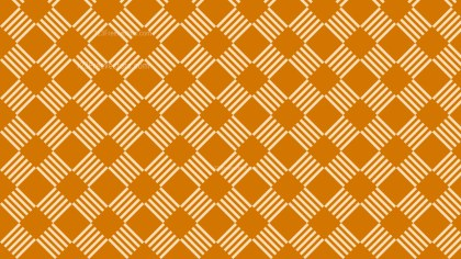 Orange Seamless Stripes Pattern Background Design