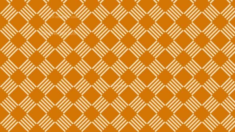 Orange Seamless Stripes Pattern Background Design