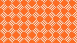 Orange Striped Geometric Pattern