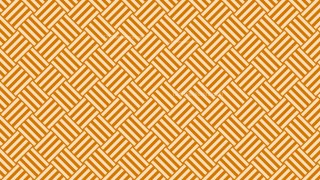 Orange Geometric Stripes Pattern