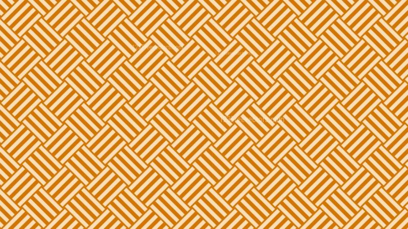 Orange Geometric Stripes Pattern