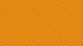 Orange Seamless Striped Geometric Pattern