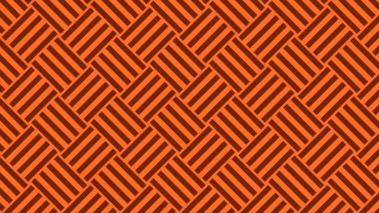 Dark Orange Seamless Geometric Stripes Pattern