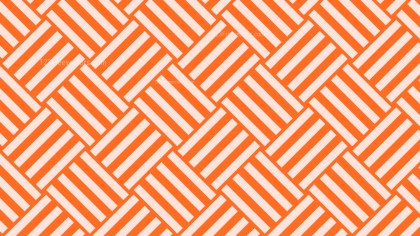 Orange Striped Geometric Pattern Vector