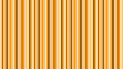 Orange Seamless Vertical Stripes Pattern Background
