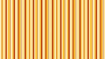 Orange Seamless Vertical Stripes Background Pattern