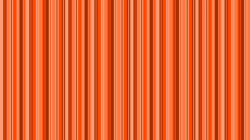 Orange Vertical Stripes Pattern Vector