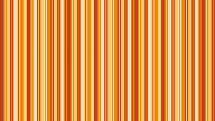 Orange Seamless Vertical Stripes Pattern Illustration