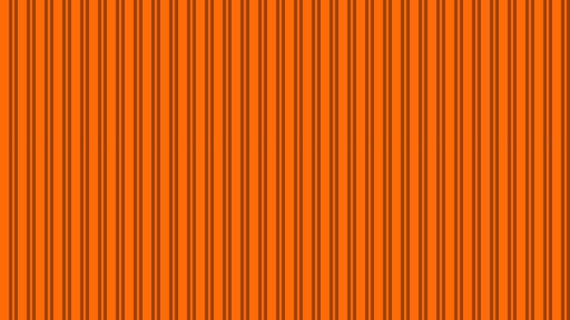 Orange Seamless Vertical Stripes Background Pattern Image