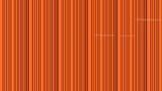 Dark Orange Vertical Stripes Background Pattern