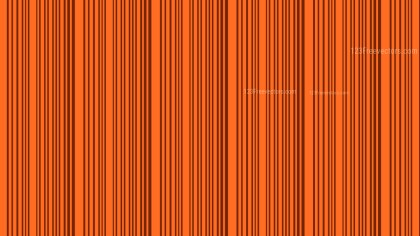 Dark Orange Vertical Stripes Background Pattern