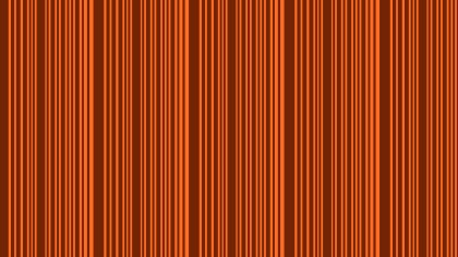 Dark Orange Seamless Vertical Stripes Pattern