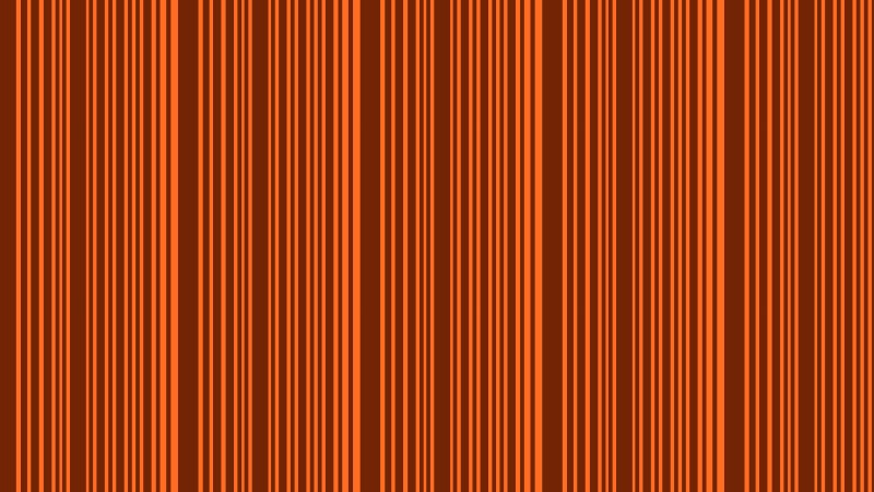 Dark Orange Seamless Vertical Stripes Pattern