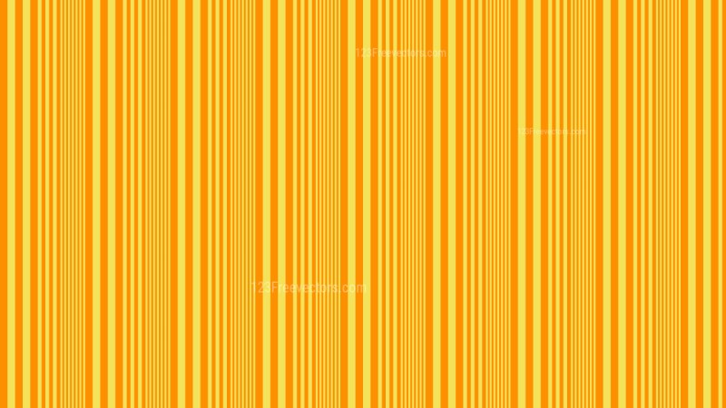 Amber Color Vertical Stripes Pattern Graphic