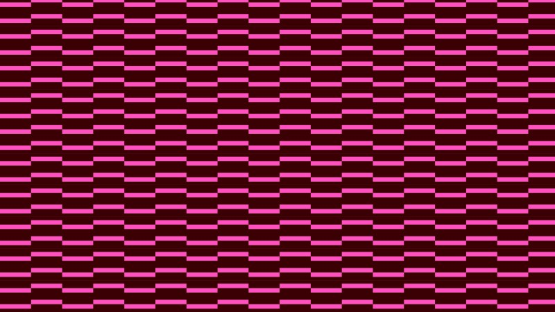 Pink Seamless Striped Geometric Pattern Graphic