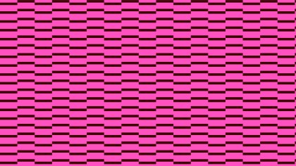 Pink Seamless Geometric Stripes Pattern Illustration