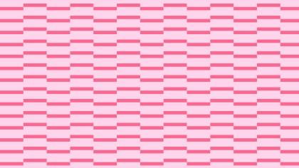 Pink Seamless Stripes Pattern