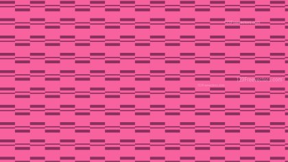 Pink Seamless Stripes Pattern Illustration