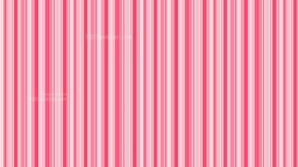 Pink Vertical Stripes Pattern