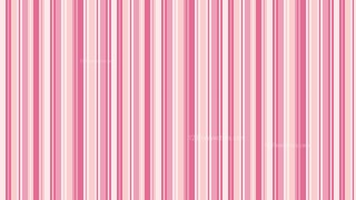 Pink Seamless Vertical Stripes Background Pattern