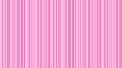 Rose Pink Seamless Vertical Stripes Background Pattern Vector Illustration