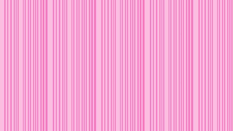 Rose Pink Seamless Vertical Stripes Background Pattern Vector Illustration