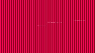 Folly Pink Seamless Vertical Stripes Background Pattern