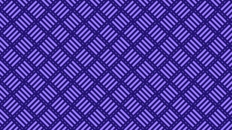 Indigo Seamless Geometric Stripes Pattern Vector Illustration
