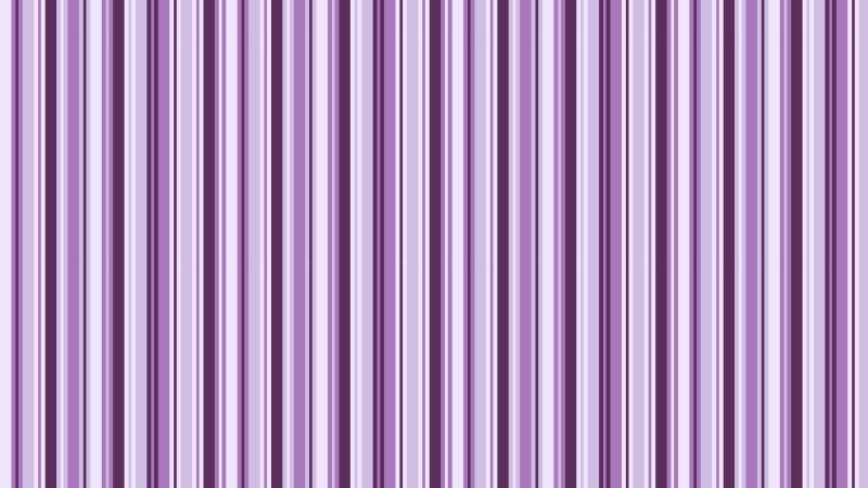 Purple Seamless Vertical Stripes Pattern Vector Illustration