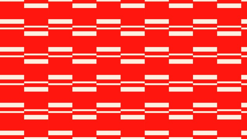 Red Seamless Stripes Background Pattern